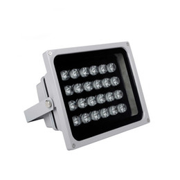 2019 illuminateur led caméra Lampe infrarouge infrarouge de vision nocturne pour caméra de sécurité IP 24pcs LED avec puce Epistar Anti-pluie Nouvelle conception illuminateur led caméra pas cher