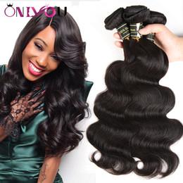Wholesale Pure Factory - Hot Brazilian Body Wave Bundles 3 or 4pcs per lot Body Weave Virgin Human Hair Weave Extensions Factory Direct Wholesale Cheap Bundle Deals