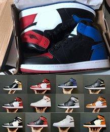a6acbf74e4d 2018 Air Retro 1 I OG Basketball Shoes For Men