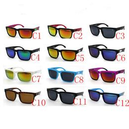 Wholesale 12 Farben Marke Designer Ausspioniert Ken Block Helm Sonnenbrille Sport Sonnenbrille Oculos De Sol Sonnenbrille Radfahren Eyewearr Unisex Brille
