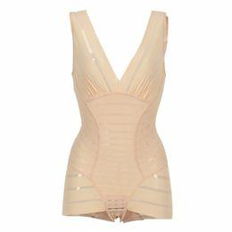 b4ca56e941831 Wholesale- Women Thin Seamless Abdomen Body Shaper Full Body Slimming  Corset Control Shapewear Tummy Control Underwear New