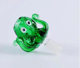 Wholesale Animal Burner - New animal face glass pipe Wholesale Glass bongs Oil Burner Glass Water Pipes Oil Rigs Smoking Free