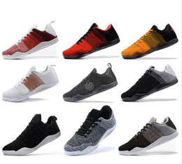 Wholesale Horse Cuts - High Quality Kobe 11 Elite Men Basketball Shoes Kobe 11 Red Horse Oreo Sneakers KB 11 Sports Sneakers