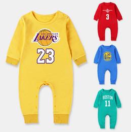 Autunno Unisex New BoyGirl Abbigliamento 100% cotone da basket manica lunga pagliaccetto Pettorina Abbigliamento sportivo Tuta Abbigliamento bambino da