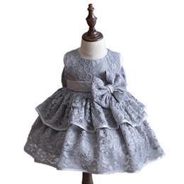 5f7e40e93d5 Newborn Sleeveless Lace Baby Girl Baptism Christening Gown Dress Fashion  little kids High-grade Party and Wedding clothing 2018 discount wedding  newborn ...
