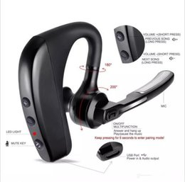 2018 шумовой шум V8 Универсальный спортивный Bluetooth-гарнитура для наушников Стереофонические наушники CSR с микрофонным голосом для наушников с розничной упаковкой