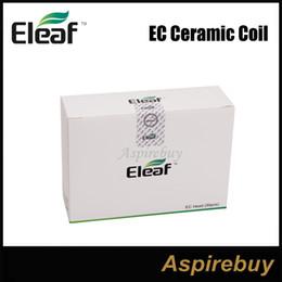 Em estoque Autêntica Eleaf iJust 2 EC dual bobina de substituição bobina cabeças para Eleaf iJust 2 Atomizador tanque de Fornecedores de cabeça dupla bobina ec