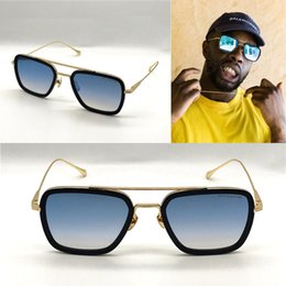 Novo luxo AAAAA Marca de Moda de Luxo Estilo Clássico Óculos De Sol de  Melhor Qualidade de Metal Homens e Mulheres de Design de VÔO 006 56d3f9172b