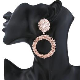 aros indianos Desconto 2018 rodada gota brincos para mulheres personalidade boho de luxo Multilayer Dangle brincos personalidade étnica Vintage geométrica moda jóias
