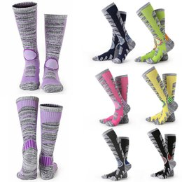Wholesale Cycling Wear For Women - Free DHL Women & Men Hiking Socks Sports Socks For Boarding Skiing Autumn Winter Style Breathable Moisture Warm Wear-resistant G490Q