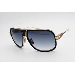 Wholesale Punk Sunglasses - 2018 luxury brand designer sunglasses for men GRANDMASTER FIVE UV400 polarized sunglasses punk style with box man glasses 2 color