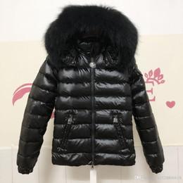 Argentina Mujeres chaqueta de invierno para mujer cuello de piel de zorro real pato abajo dentro femme capa caliente con toda la etiqueta y etiqueta 660 Suministro