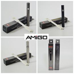 E max cig batterien online-Original Amigo Max Vape-Akku 380mAh 510-Vape-Patronen-Akku zum Aufheizen von E-Cig-Batterien