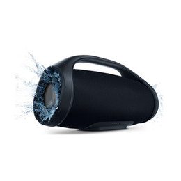 altavoces base Rebajas Boombox Altavoz Bluetooth 3D Subwoofer HIFI Subwoofer estéreo portátil al aire libre subwoofers con caja al por menor