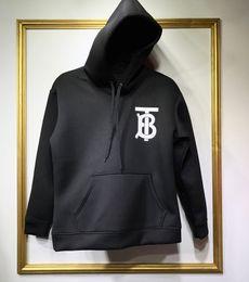 dc5c720801c36 Discount london sweatshirts fashion - 18ss England London Autumn Winter  Fashion T B Hooded Hoodie Men Women