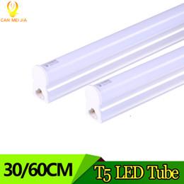 Poderoso T5 Levou Tubo de Luz 300mm 600mm 5 W 8 W 9 W 2ft LED T5 Lâmpada de Parede 220 V Levou Luzes Fluorescentes Decorativas para Sala de estar de Fornecedores de iluminação decorativa fluorescente