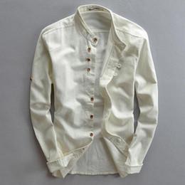 b8ffd35f3674 Brand designer - Plus Size Shirts Cotton Linen Men Shirt Long Sleeve Summer  Style Hawaiian Shirts Sexy Slim Fit Men Clothes 2016 New Arrival