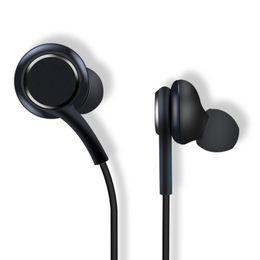 Fones de ouvido samsung branco on-line-Neutro 6u speaker s8 fone de ouvido fone de ouvido preto branco fones de ouvido fones de ouvido handsfree para samsung galaxy s8 s8 mais oem earbuds 500 pçs / lote