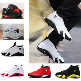 Wholesale Best Brands Basketball Shoes - Customer reviews retro 14 Basketball shoes real best quality authentic sneakers sport shoe trainer red core pk sneaker basketball 14s brand