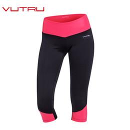 f9465027dc red capri yoga pants Coupons - Vutru Womens Capri Pants Sport Yoga Pants  Bodybuilding Running Tights