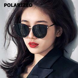 JackJad 2018 Mode POLARISÉ De Style Rond Lunettes De Soleil Femmes Rue Snap  Couleur Miroir Marque Design Lunettes De Soleil Oculos De Sol 1818 dfbd3f190401