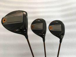 Wholesale Graphite Wholesale - Golf Clubs G400 Driver 10.5 loft + G400 fairway Woods 3# 5# Graphite Shaft 3PCS Golf Woods Right hand
