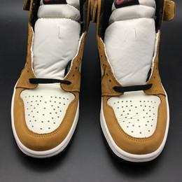 Air 1 High OG Rookie Of The Year 555088-700 1s I Kicks Men Basketball Calzado deportivo Zapatillas deportivas con caja original desde fabricantes
