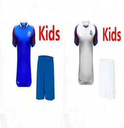 Wholesale Teen S - 2018 Iceland Kids Soccer Jersey 2018 Iceland teens Soccer Jersey Best Quality Casual Free shipping