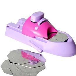 Motif d'art d'ongle print en Ligne-DIY Pattern Impression Nail Art Stamper Kit Pour Filles Estampage De La Machine D'impression Nail Printer Tools Free DHL