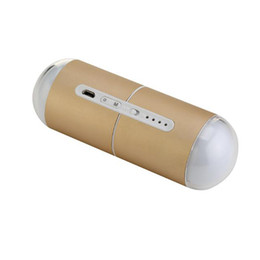 Wholesale Night Light Electric - 5000mAh Macaron Lucky Capsule USB Rechargeable Hand Warmer Electric Hand Warmer Pocket Power Bank Mobile Power Supply LED Night Light