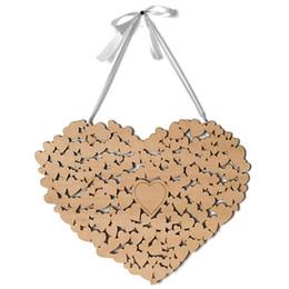 Kalp Düğün Ziyaretçi Defteri Alternatif Asılı Kalp Düğün Ziyaretçi Defteri Gümrük Kişiselleştirilmiş Düğün Malzemeleri nereden
