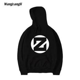 Wholesale dj cloths - wangcangli 2017 New Autumn and Winter ZEDD Famous DJ Singer Fashion Hoodies and Sweatshirt With Long Sleeve Cloth Size 4XL