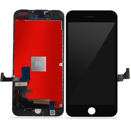 Wholesale iphone digitizer pcs - 1 Pcs Good Quality Touch Screen Digitizer & LCD Display Assembly Replacement For iPhone 5 se black color Free Shipping