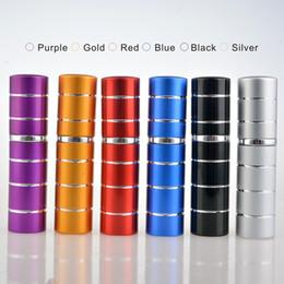 bouteilles en forme de carré Promotion 6 couleurs 10 ml Square Shape aluminium électrifié verre portable vésicule biliaire intérieur parfum huile essentielle mise en bouteille, Livraison gratuite.