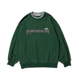 Argentina Gosha Rubchinskiy otoño e invierno nuevo suelto suelto de gran tamaño cuello redondo suéter suéter de moda de calidad superior hombres y mujeres HFBYWY154 Suministro