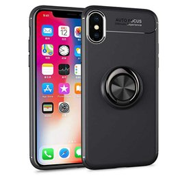 2019 telefones kickstand Para iphone xs max xr x 6 7 8 titular do anel tpu case girando kickstand magnético matte tampa do telefone para huawei p20 s9 telefones kickstand barato