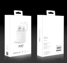 2019 dacom bluetooth kopfhörer Heißer Dacom GF7 TWS paart zutreffendes drahtloses Bluetooth Earbuds Kopfhörer-Kopfhörer für iPhone 7 7P doppelte Zwillings-Kopfhörer-Smartphones GEGEN Q800 S530 günstig dacom bluetooth kopfhörer