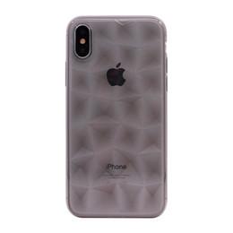 PURE KASE Clear Case pour Iphone X, Crystal Case TPU 3D Prism Design mince antichoc cas de téléphone ? partir de fabricateur