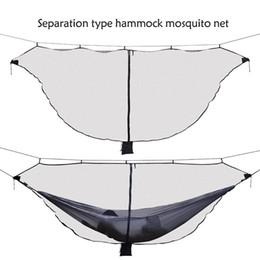 Maillage oscillant en Ligne-Camping en plein air Randonnée Treillis Moustiquaire pour Double Hamac Suspendus Lit Swing Équipement XHC88
