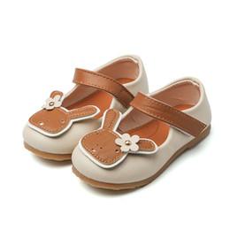 Wholesale Muscle Rabbit - Children casual shoes cute cartoon rabbit baby shoes ladies high quality PU shoes wholesale