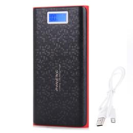 PN 920 20000mAh Banco de energía Cargador de batería externo Teléfono móvil Cargador de batería con doble linterna LCD USB desde fabricantes