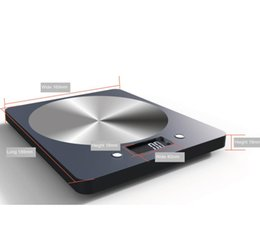 Wholesale Abs 1kg - 5kg kitchen scale ABS Environmentally Friendly Materials Food Scale Stainless Steel Panel 5000g*1G Precision Scale Free