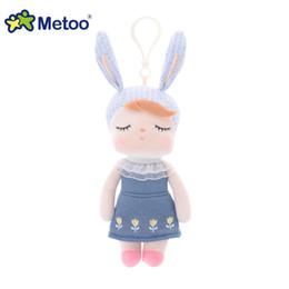 Wholesale angela dolls - Plush Stuffed Animal Cartoon Kids Toys for Girls Children Baby Birthday Christmas Gift Angela Rabbit Metoo Doll