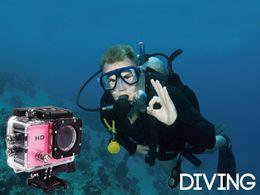 câmeras de espionagem de mini-noite sem fio Desconto 2018 Novo SJ4000 1080 P Capacete Esportes DVR DV Carro de Vídeo Cam Full HD DV Ação À Prova D Água Subaquática 30 M Câmera Filmadora Multicolor