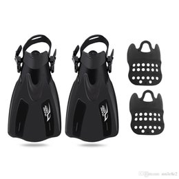 Wholesale Adult Flippers - KEEPDIVING Paired Snorkeling Adjustable Diving Fin Diving Fins Snorkeling Flippers Adult Swimming Fin Training Adjustable Fin