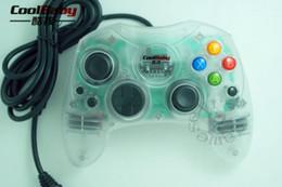 Transparente farben Klassische Wired Joypad Controller Für Microsoft für Xbox Controller XBOX Gamepad Joystick Controle von Fabrikanten