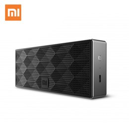 xiaomi square bluetooth speaker Promo Codes - Original Xiaomi Bluetooth Square Box Speaker,Wireless Output,Stereo Double Driver,1200mAh High Capacity Battery,Portable Speaker