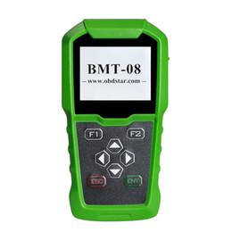 Ford аккумулятор онлайн-OBDSTAR BMT-08 12V / 24V 100-2000 CCA 220AH Автомобильный тестер аккумулятора нагрузки и автомобильный аккумулятор OBD2 Match Tool