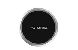Wholesale new galaxy s5 - X8 New Wireless Fast Charging Pad For iPhone Samsung Galaxy S8 Plus s5 S6 S7 Edge Note 5 8