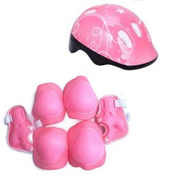 de31a8e15e6 Chinese Children Bike Helmet Skateboard Skating Cycling Riding Kids Bicycle  Casque Ciclismo Casco Protect Elbow Knee